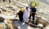 مدني مكة ينقذ شخص تائه في منطقة صحراوية