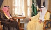 بالصور.. أمير مكة يستقبل محافظ هيئة الزكاة لبحث الخطط المستقبلية