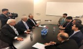 """"""" الفالح """" يبحث أوضاع السوق الاقتصادية مع الوزراء في منتدى دافوس"""