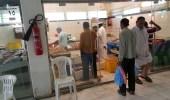 بالصور.. جولة تفتيشية على سوق الأسماك بالكعكية وإغلاق محلين