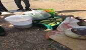 إتلاف مواد غذائية وغلق 3 محال مخالفة في البيداء