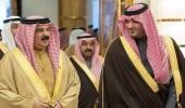 ملك البحرين يستقبل سمو وزير الداخلية