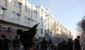 بالفيديو.. متظاهرو الأحواز يحاصرون قوات الأمن الإيراني