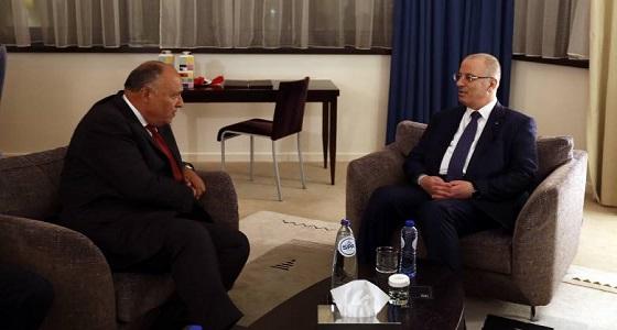 مصر وفلسطين تبحثان تطورات الأوضاع في الأراضي المحتلة