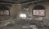 بالصور .. مدني نجران يخمد حريقًا اندلع بمنزل في الفيصلية