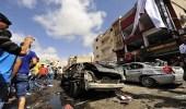 حصيلة قتلى تفجير بنغازي ترتفع لـ 34 شخصا