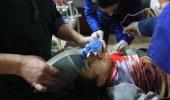 بالفيديو.. حالة من الهلع تنتاب أطفال الغوطة الشرقية بسوريا بعد سقوط القذائف