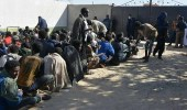 بالصور.. فرار 94 مهاجرًا من سجون عصابات التهريب في ليبيا