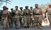الجيش الوطني يعلن جولة القصر والحوبان منطقة عمليات عسكرية