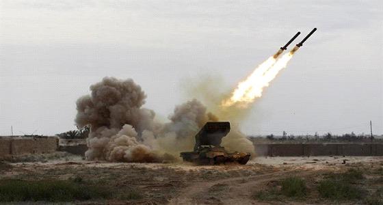 بالفيديو.. اعتراض صاروخ باليستي في سماء جازان