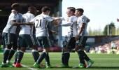 مانشستر يونايتد يفوز على بيرنلي في الدوري الإنجليزي
