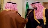 أمير نجران يستقبل أسرة قتيل قررت العفو عن القاتل
