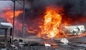 انفجار سيارة مفخخة قرب منزل شيخ قبيلة مساندة للجيش الوطني بليبيا