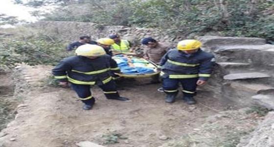 أهالي فيفاء يستغيثون لإنقاذهم من حوادث السقوط بالمنحدرات الجبلية
