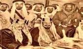 صورة نادرة للملك فارروق والملك عبدالعزيز آل سعود عام 1946