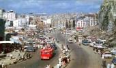 صورة قديمة نادرة للطريق المقتطع من جبل أبي قبيس