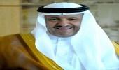 """سلطان بن سلمان يقدم التعازي لـ """" مسن تنومة """" في وفاة ابنه"""