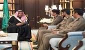 أمير الباحة يتسلم نسخة من التقرير الإحصائي السنوي للسجون