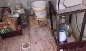 بالصور.. ضبط ومصادرة أغذية فاسدة بجزر فرسان
