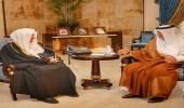 الأمير خالد الفيصل يلتقي الأمين العام لرابطة العالم الإسلامي