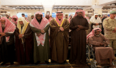 وكيل إمارة منطقة الرياض يؤدي صلاة الميت على الشهيد مجرشي