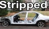 شاهد كيف تفكك سيارتك بالكامل