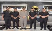 بالصور..ترقية 3 ضباط بدوريات الأمن في مكة