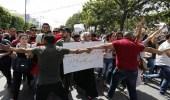 """سقوط قتيل في مواجهات بين الأمن ومتظاهرين بـ """" تونس """""""