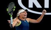 كارولين فوزنياكى تفوز بلقب أستراليا المفتوحة للتنس لأول مرة