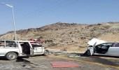 إصابة شخص إثر اصطدام مركبتين على طريق جدة وأبحر الشمالية