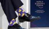 """بالصور.. رئيس الوزراء الكندي يثير الضجة بجوارب """" البط الأصفر """""""