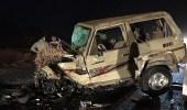مصرع 6 من عائلة واحدة في حادث مروع بجازان