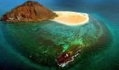 """بالصور.. """" كدمبل """" جزيرة جبلية  لهواة الصيد بالبحر الأحمر"""