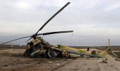 مصرع 4 أشخاص في تحطم طائرة مروحية بأوكرانيا