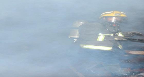 بالصور.. إصابة امرأتين إثر حريق بمنزل شعبي في رابغ