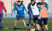 سالم الدوسري يشارك في تدريبات ناديه الجديد لأول مرة