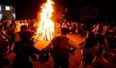 مهرجان الأقنعة لطرد الأرواح الشريرة فى بلغاريا