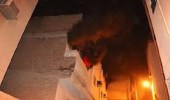 بالصور.. اندلاع حريق بشقة في جدة دون إصابات