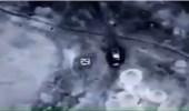 بالفيديو.. سلاح الجو الإماراتي في التحالف العربي يقصف آلية عسكرية حوثية