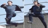 """"""" توم كروز """" يتسبب في شلل مروري وسط لندن"""