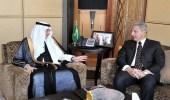 بالصور.. الأمين العام لمنظمة التعاون الإسلامي يزور مقر سفارة المملكة بالقاهرة
