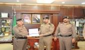 بالصور.. مدير شرطة الجوف يكرم عددا من ضباط الأدلة الجنائية