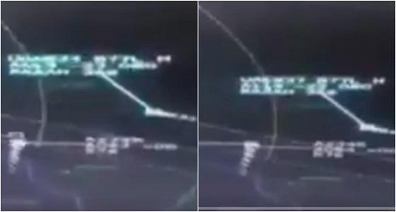 التليفزيون البحريني يبث فيديو يثبت اعتراض المقاتلات القطرية للطائرة الإماراتية
