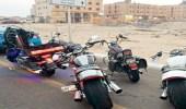 مرور الباطن يحجز دراجات نارية بدون لوحات