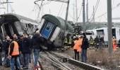 مقتل شخصين وإصابة 110 آخرين في حادث تصادم قطار بإيطاليا
