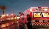 إصابة 6 أشخاص في حادث تصادم مركبة و حراثة بالقنفذة