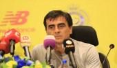 """مدرب النصر: """" الحكم """" سبب خسارتنا أمام الفيحاء"""