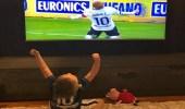 نجل لاعب إيطالي يخطف الأضواء من والده