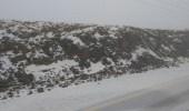 بالفيديو والصور.. الثلوج تغطي جبل اللوز بمنطقة تبوك