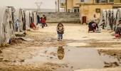 بالصور.. نازحين سوريا يعانون من الجليد والبرودة القاسية